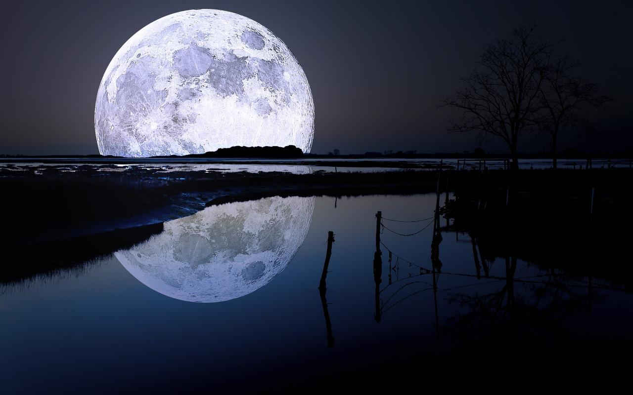 صورة اجمل صور للقمر , كلام غزل في نور القمر