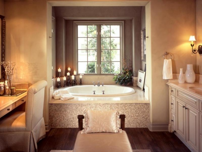 بالصور حمامات داخل غرف النوم , كيفية تنسيق الوان الحمامات مع باقى المنزل 4820 10