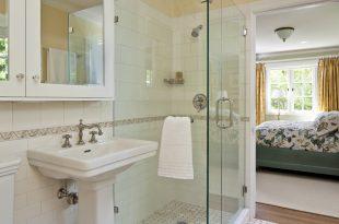 صورة حمامات داخل غرف النوم , كيفية تنسيق الوان الحمامات مع باقى المنزل