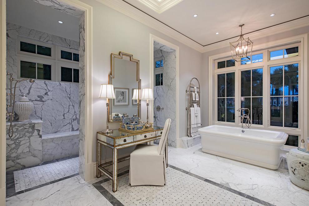 بالصور حمامات داخل غرف النوم , كيفية تنسيق الوان الحمامات مع باقى المنزل 4820 6