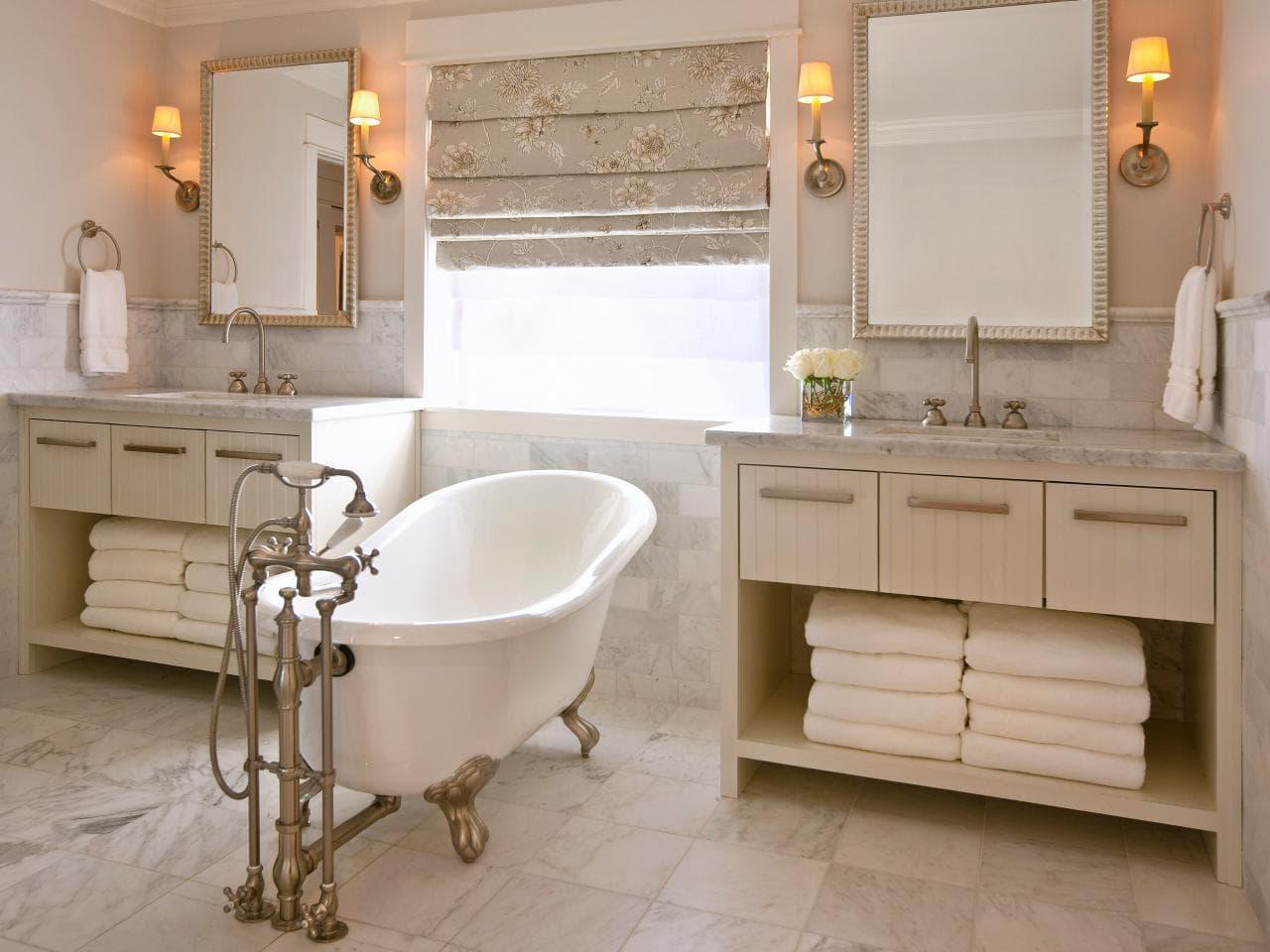 بالصور حمامات داخل غرف النوم , كيفية تنسيق الوان الحمامات مع باقى المنزل
