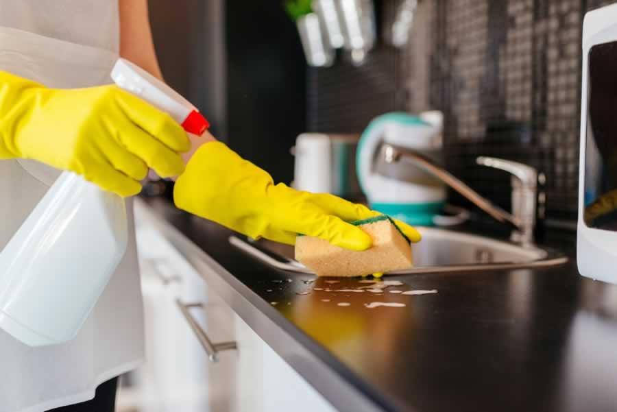 صورة تنظيف المطبخ , كيف انظف المطبخ واتخلص من الروائح الكريهة