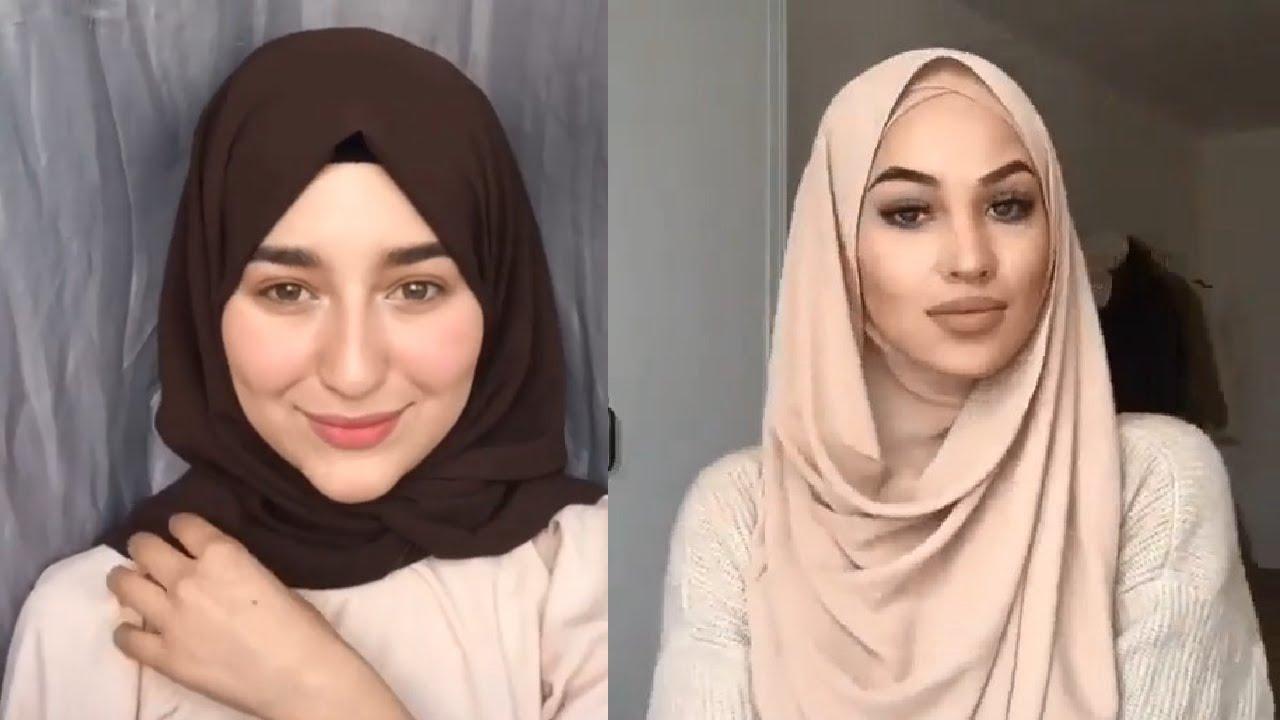 صورة احلى بنات محجبات , طرق جديدة للفات الحجاب