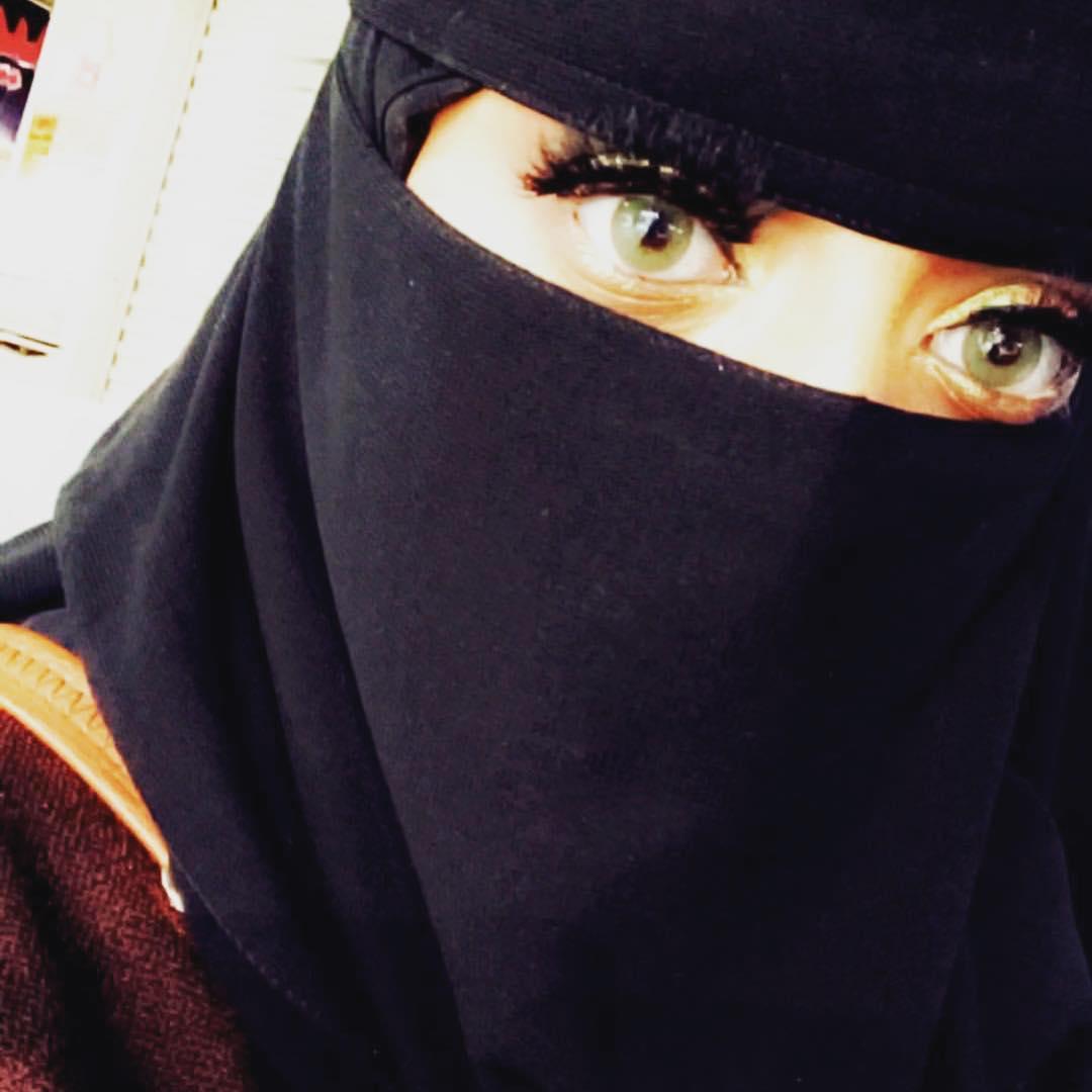 صورة صور بنات منقبات , اجمل الصور للبنات المنتقبة