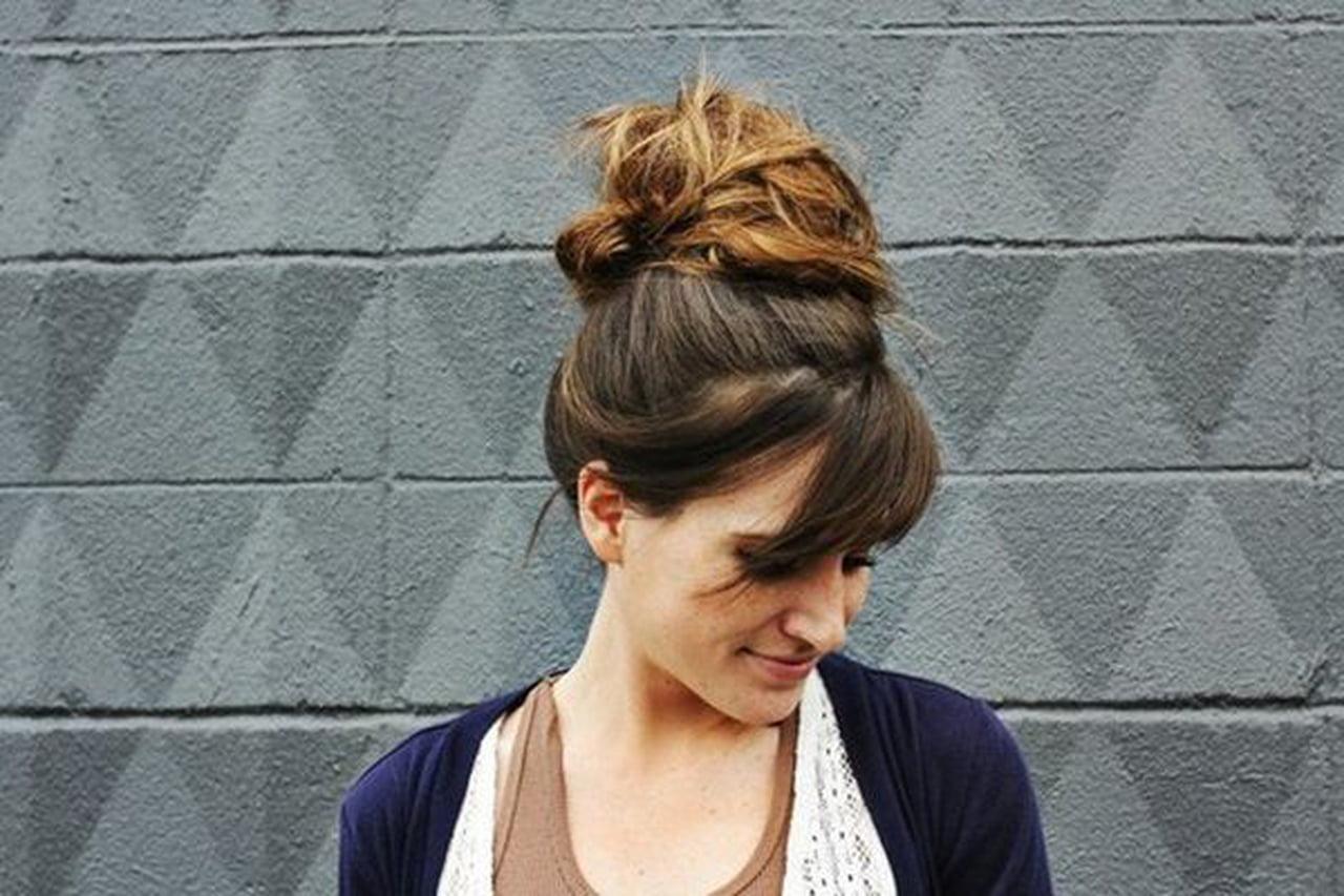صورة كيف اسرح شعري بدون سشوار , اجمل التسريحات بدون سشوار