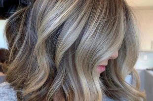 صورة احسن لون شعر , افضل الوان للشعر