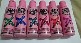 صور صبغة شعر كريزي كلر , نصائح استخدام الكريزى كلر