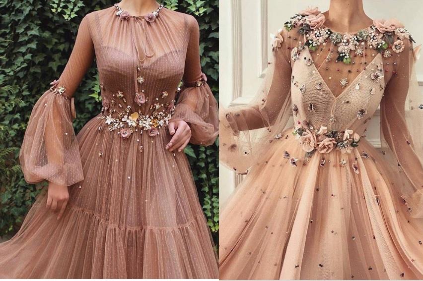 صورة فستان سهرة 2019 , اجمل فستين سهرة 2019