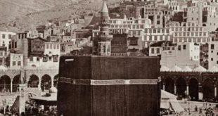صورة اول من بني الكعبة , من الذي بني الكعبة الشريفة