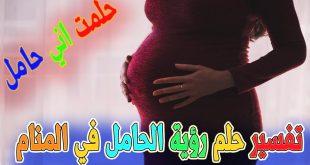 رايت في المنام اني حامل
