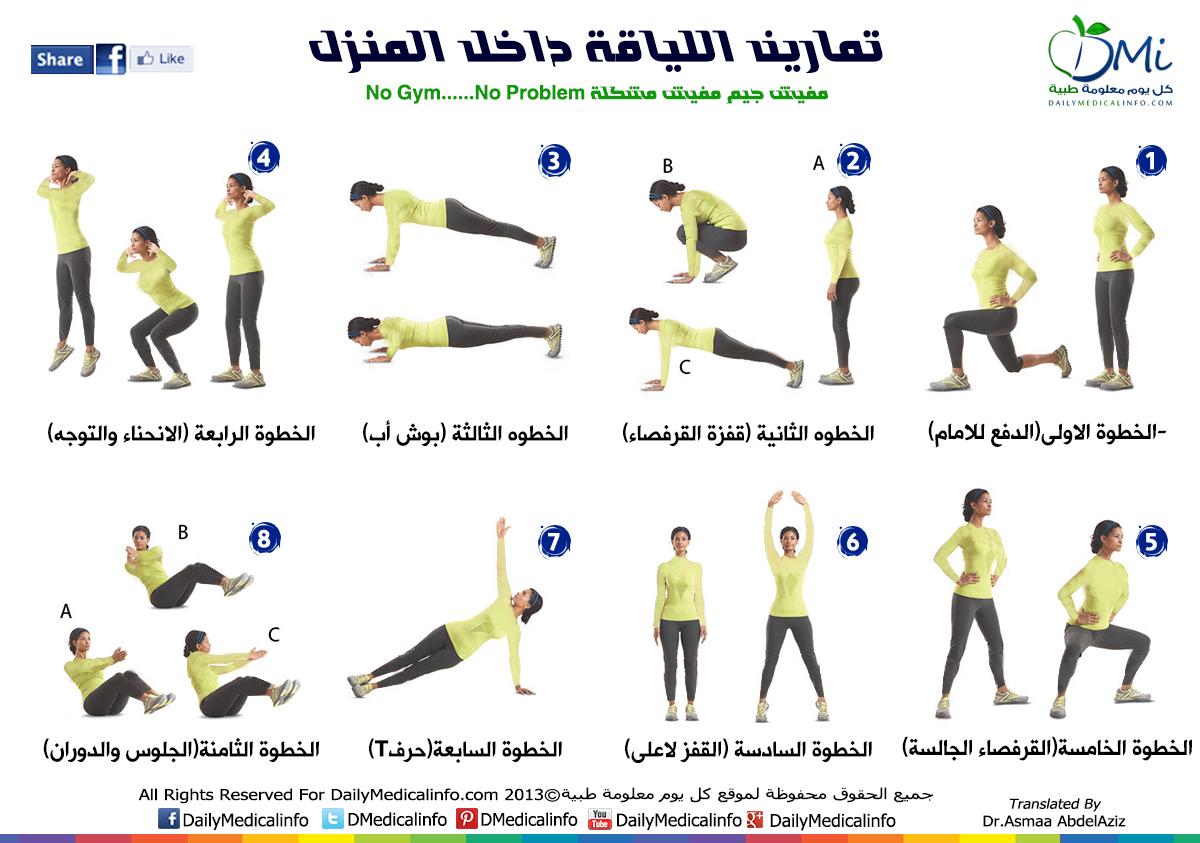 صورة انواع التمارين الرياضية 10943