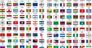 اسماء جميع دول العالم
