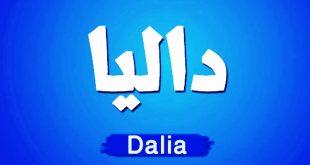 معنى اسم داليا , يابخت اللى سمى اسم داليا تعالو وشوفوا السبب